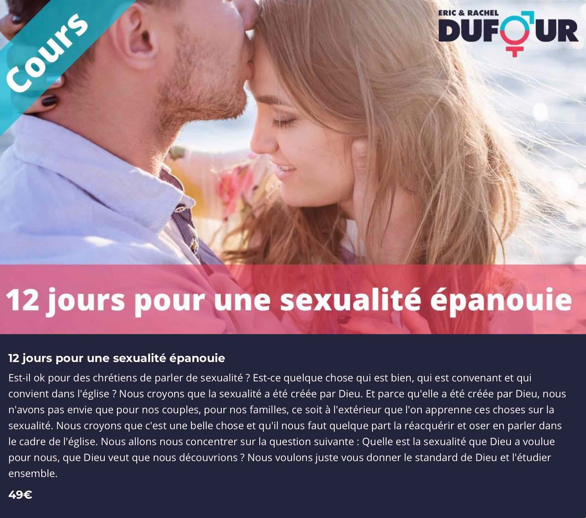 Programme Rachel Dufour